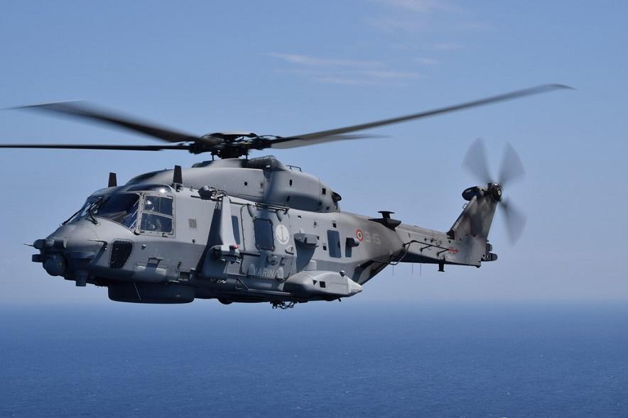 Elicottero Marina Militare : Prosegue incessante l impegno di uomini e donne della