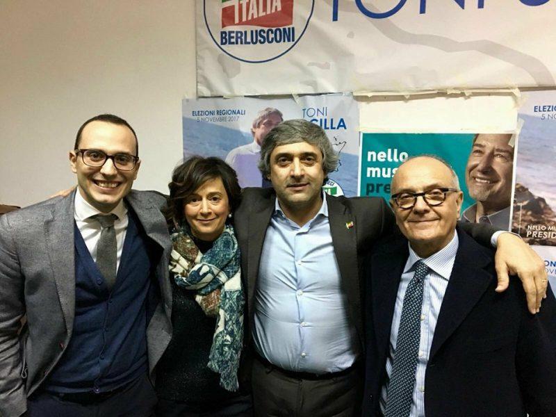 Manifestazione politica di forza italia scilla for Deputati di forza italia