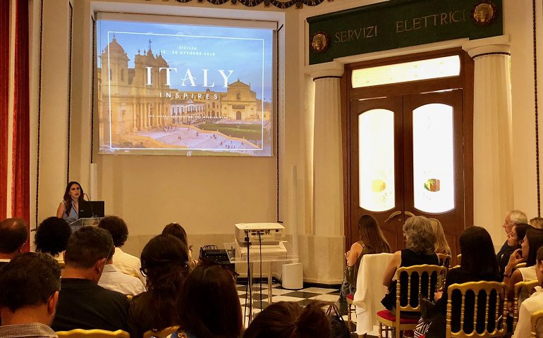 Italy Inspires a Sicilian Romance